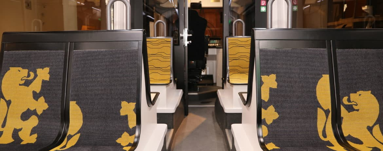 Innenraum Stadtbahn