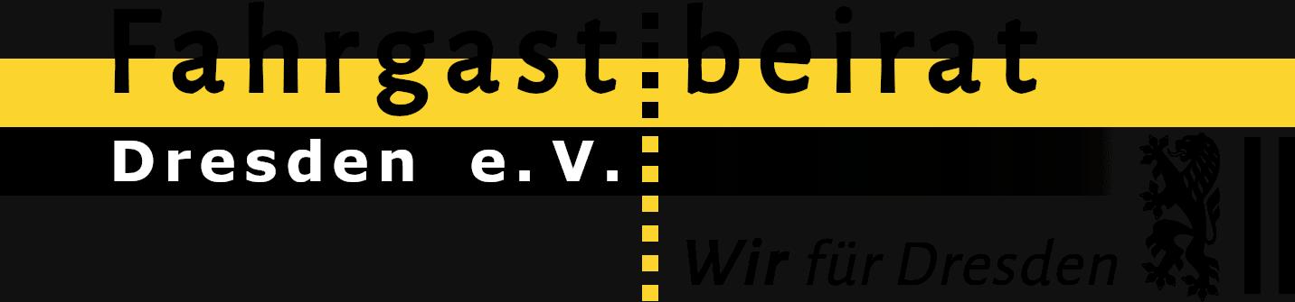 Logo Fahrgastbeirat Dresden e. V.